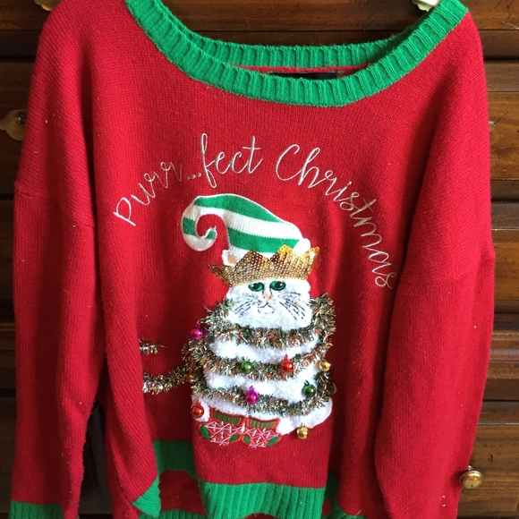 Ugly Christmas Sweater Funny.Funny Ugly Christmas Sweater